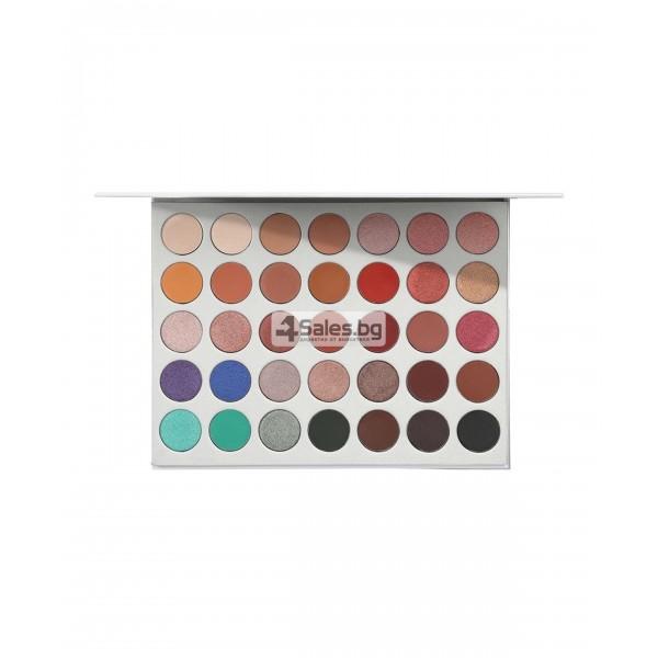 Палитра от 35 броя сенки за очи с удивителни цветове MORPH by Jaclyn Hill HZS114 15