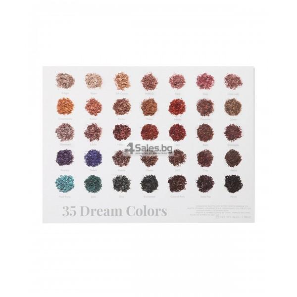 Палитра от 35 броя сенки за очи с удивителни цветове MORPH by Jaclyn Hill HZS114 16