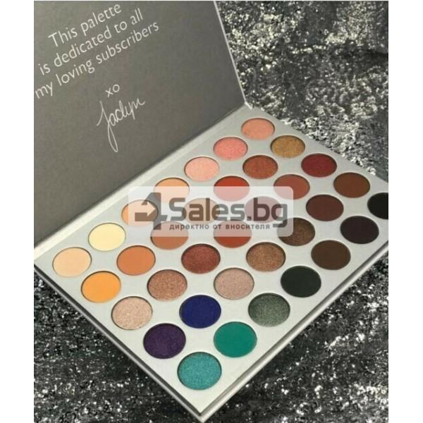 Палитра от 35 броя сенки за очи с удивителни цветове MORPH by Jaclyn Hill HZS114 17