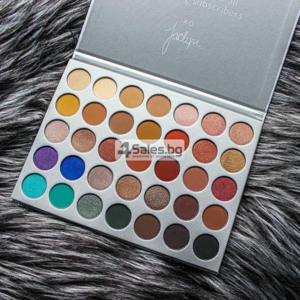Палитра от 35 броя сенки за очи с удивителни цветове MORPH by Jaclyn Hill HZS114 24