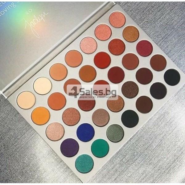 Палитра от 35 броя сенки за очи с удивителни цветове MORPH by Jaclyn Hill HZS114 25