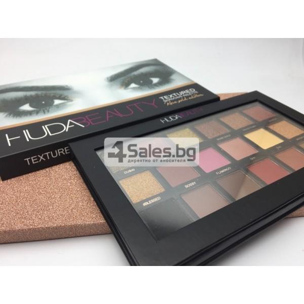 Комплект от 18 цвята сенки за очи в удобна палитра HUDA BEAUTY HZS115 4