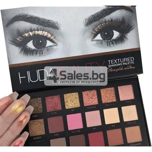 Комплект от 18 цвята сенки за очи в удобна палитра HUDA BEAUTY HZS115 17