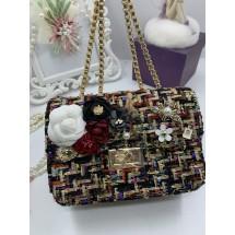 Дамска чантичка с красива декорация – невероятна феерия от цветове ZSB-S-22