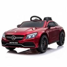 Детска кола с акумулаторна батерия реплика на Mercedes Benz C63 AMG