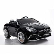 Детска кола с акумулаторна батерия детайлна реплика на Mercedes Benz SL65 AMG