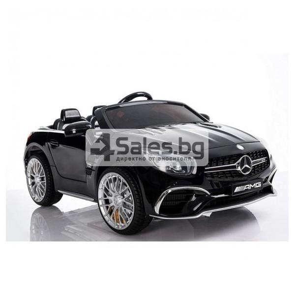 Детска кола с акумулаторна батерия детайлна реплика на Mercedes Benz SL65 AMG 1