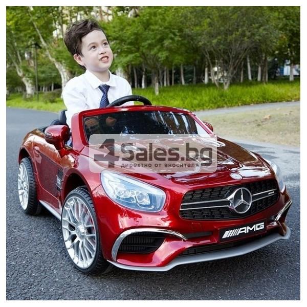 Детска кола с акумулаторна батерия детайлна реплика на Mercedes Benz SL65 AMG 2
