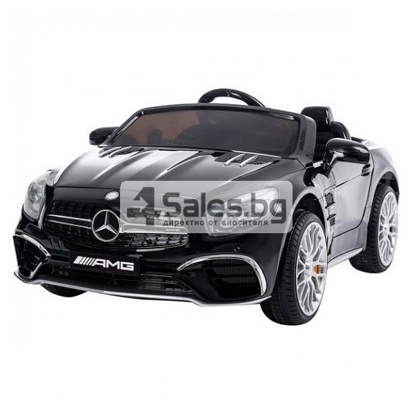 Детска кола с акумулаторна батерия детайлна реплика на Mercedes Benz SL65 AMG 4