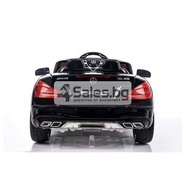 Детска кола с акумулаторна батерия детайлна реплика на Mercedes Benz SL65 AMG 5