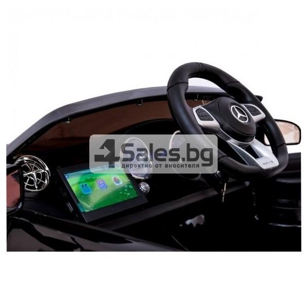 Детска кола с акумулаторна батерия детайлна реплика на Mercedes Benz SL65 AMG 6
