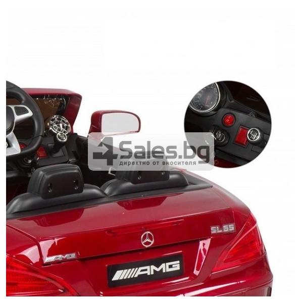 Детска кола с акумулаторна батерия детайлна реплика на Mercedes Benz SL65 AMG 9
