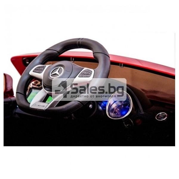 Детска кола с акумулаторна батерия детайлна реплика на Mercedes Benz SL65 AMG 11