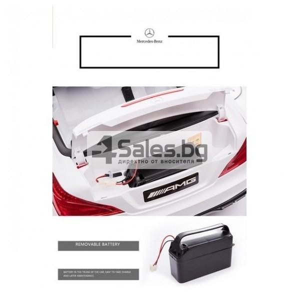 Детска кола с акумулаторна батерия детайлна реплика на Mercedes Benz SL65 AMG 14