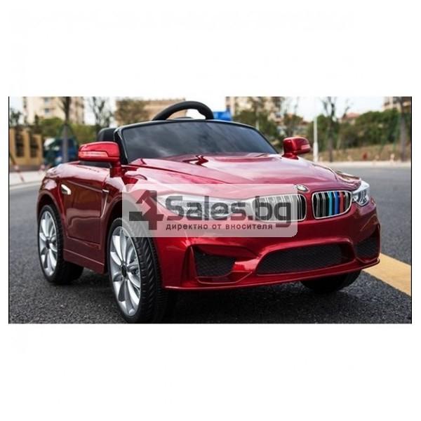 Детска кола с акумулаторна батерия детайлна реплика на BMW