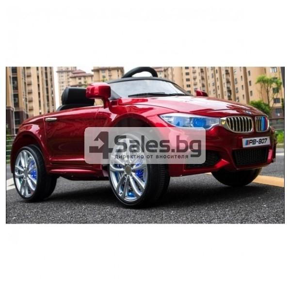 Детска кола с акумулаторна батерия детайлна реплика на BMW 3