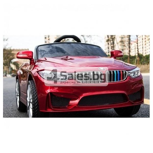 Детска кола с акумулаторна батерия детайлна реплика на BMW 4