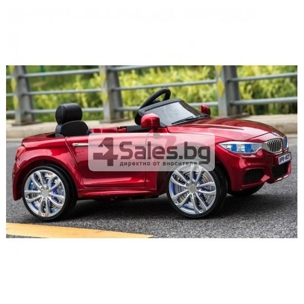 Детска кола с акумулаторна батерия детайлна реплика на BMW 5