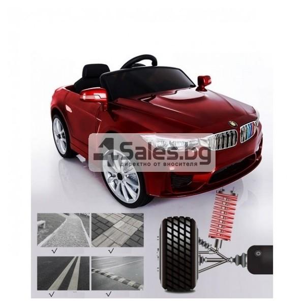 Детска кола с акумулаторна батерия детайлна реплика на BMW 7