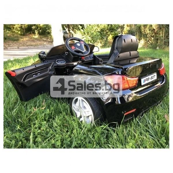Детска кола с акумулаторна батерия детайлна реплика на BMW 10
