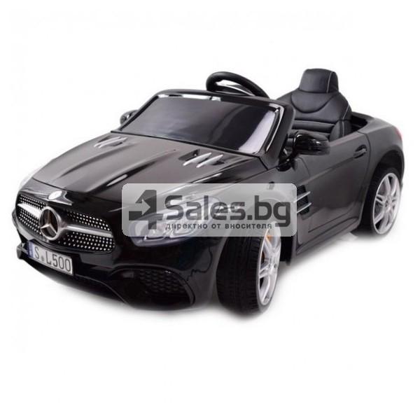Детска кола с акумулаторна батерия детайлна реплика на Mercedes Benz SL500 AMG 1