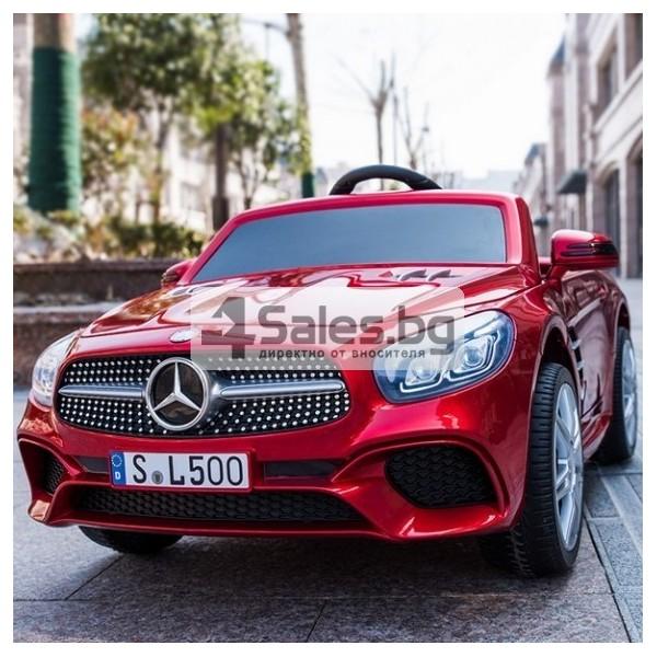 Детска кола с акумулаторна батерия детайлна реплика на Mercedes Benz SL500 AMG 3