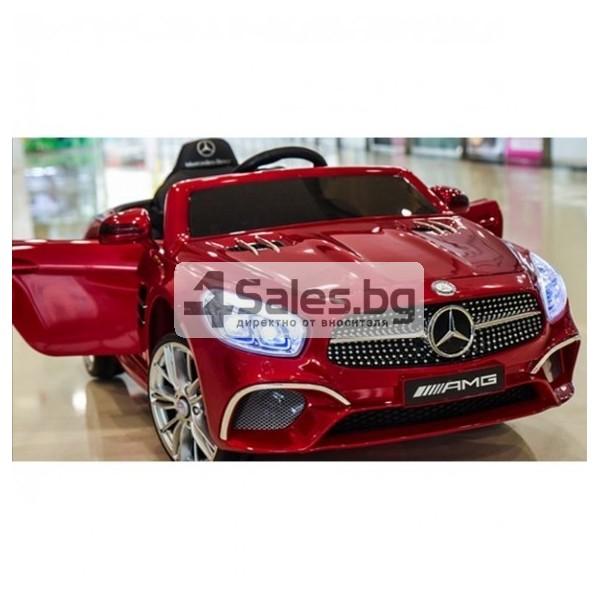 Детска кола с акумулаторна батерия детайлна реплика на Mercedes Benz SL500 AMG 5
