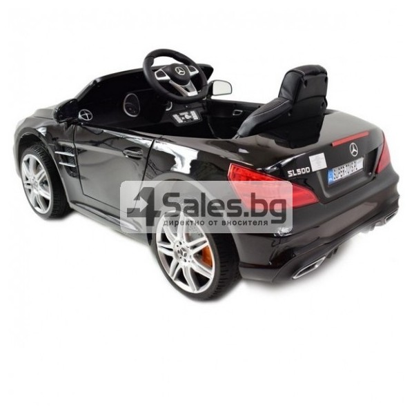 Детска кола с акумулаторна батерия детайлна реплика на Mercedes Benz SL500 AMG 8