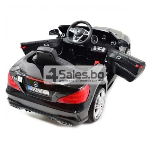 Детска кола с акумулаторна батерия детайлна реплика на Mercedes Benz SL500 AMG 9