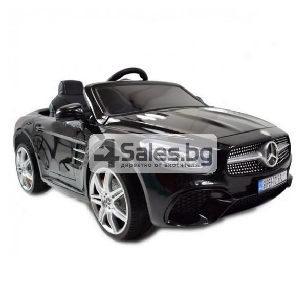 Детска кола с акумулаторна батерия детайлна реплика на Mercedes Benz SL500 AMG 10