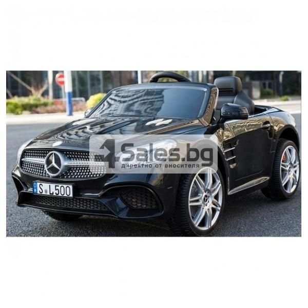 Детска кола с акумулаторна батерия детайлна реплика на Mercedes Benz SL500 AMG 11