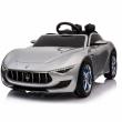Ефектна детска кола с акумулаторна батерия детайлна реплика на Maserati Alfieri 4