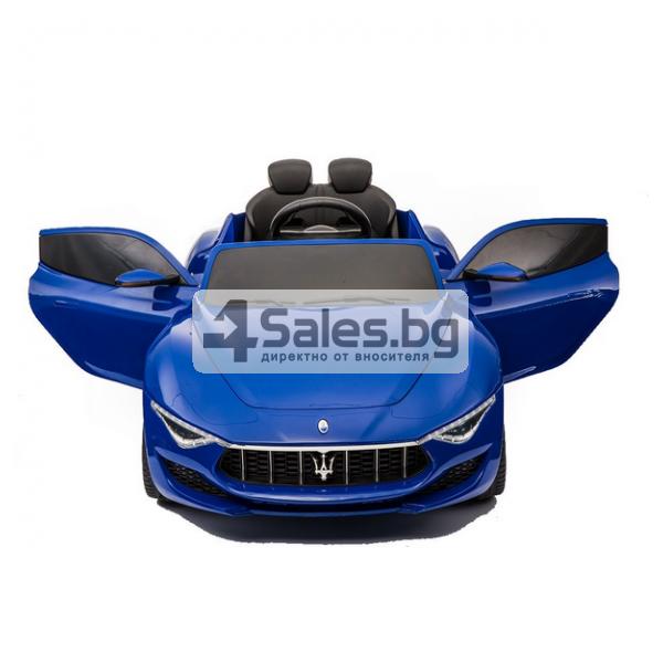 Ефектна детска кола с акумулаторна батерия детайлна реплика на Maserati Alfieri 3