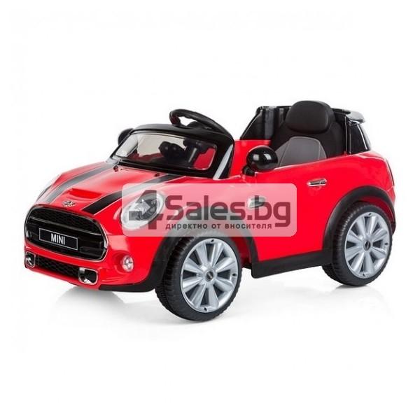 Детска кола с акумулаторна батерия реплика на Mini Cooper Hatch 1