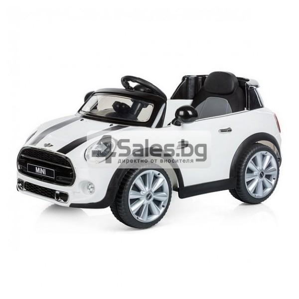 Детска кола с акумулаторна батерия реплика на Mini Cooper Hatch 2