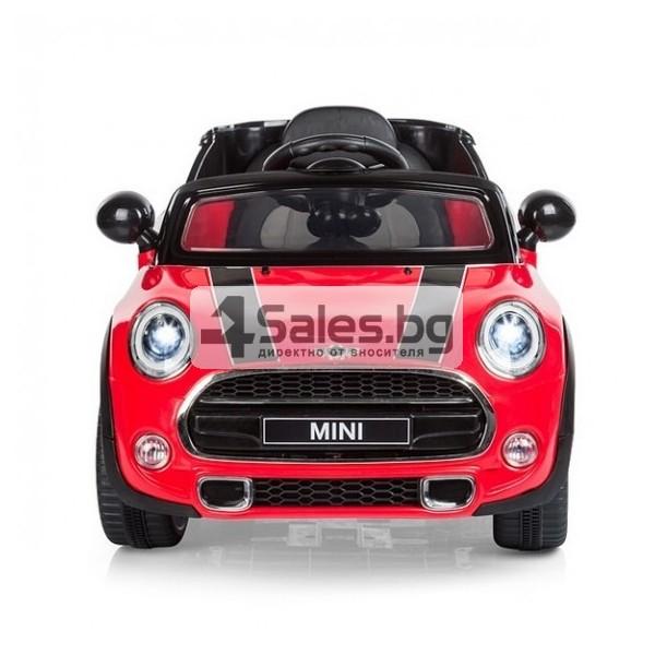 Детска кола с акумулаторна батерия реплика на Mini Cooper Hatch 5
