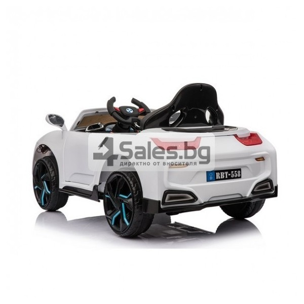 Красива детска кола с акумулаторна батерия Mercury 6