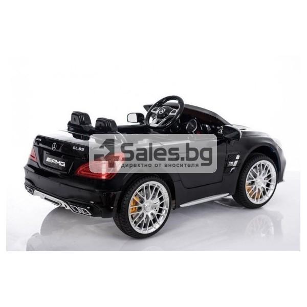 Детска кола с акумулаторна батерия реплика на Mercedes Benz SL65 4