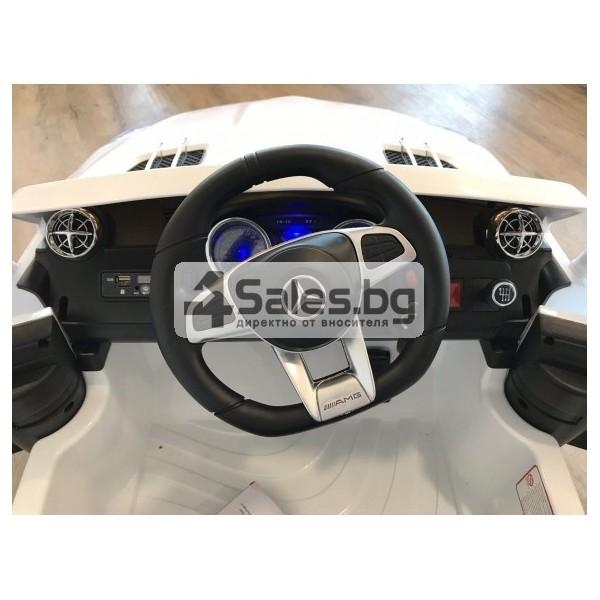 Детска кола с акумулаторна батерия реплика на Mercedes Benz SL65 8