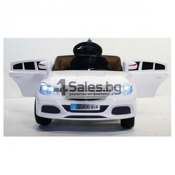 Детска кола с акумулаторна батерия детайлна реплика на Mercedes XMX-816 9
