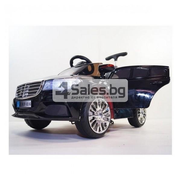 Детска кола с акумулаторна батерия детайлна реплика на Mercedes XMX-816 12