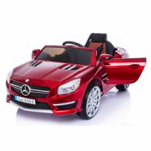 Едноместна детска кола с акумулаторна батерия реплика на Mercedes Benz SL63 AMG