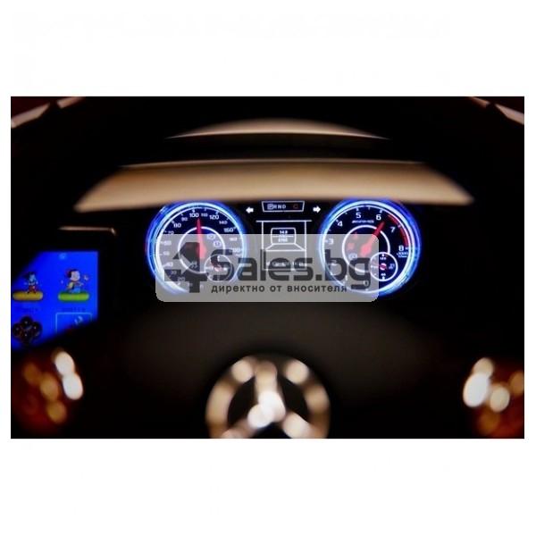 Детска кола с акумулаторна батерия детайлна реплика на Mercedes Benz SLS AMG 3