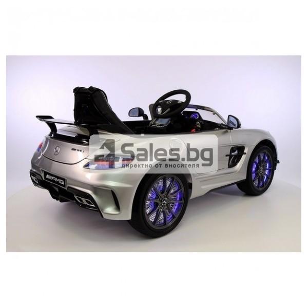Детска кола с акумулаторна батерия детайлна реплика на Mercedes Benz SLS AMG 7