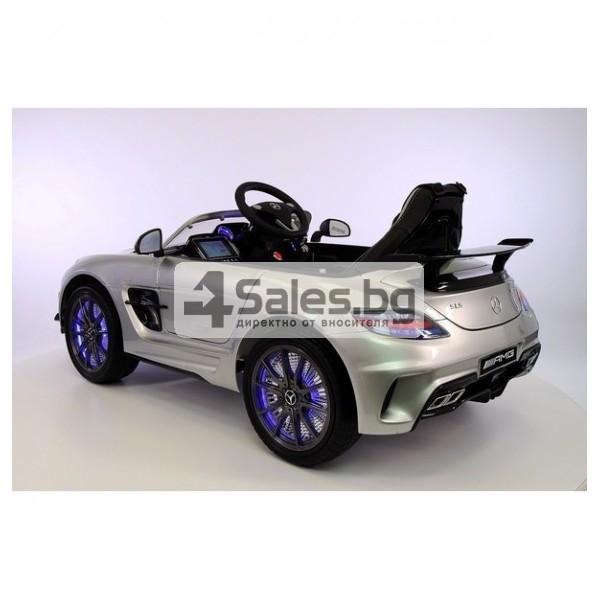 Детска кола с акумулаторна батерия детайлна реплика на Mercedes Benz SLS AMG 8