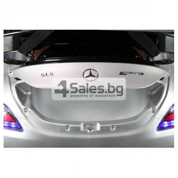Детска кола с акумулаторна батерия детайлна реплика на Mercedes Benz SLS AMG 9