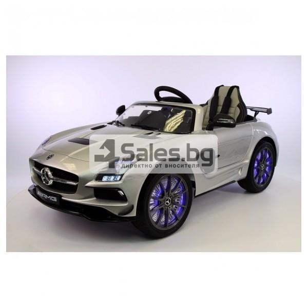 Детска кола с акумулаторна батерия детайлна реплика на Mercedes Benz SLS AMG 13