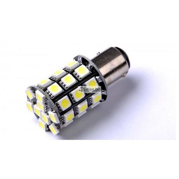 LED крушки за светлини за заден ход и стоп светлина 1156 CAR LED7 2