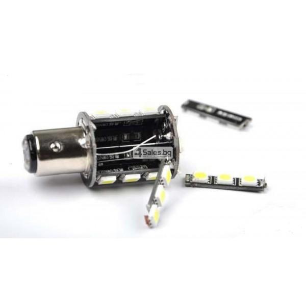 LED крушки за светлини за заден ход и стоп светлина 1156 CAR LED7 7