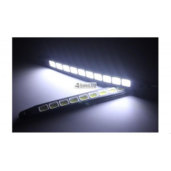 Универсална Силиконова огъваща се дневна светлинна лента XZ-COB CAR DIS LED3 5